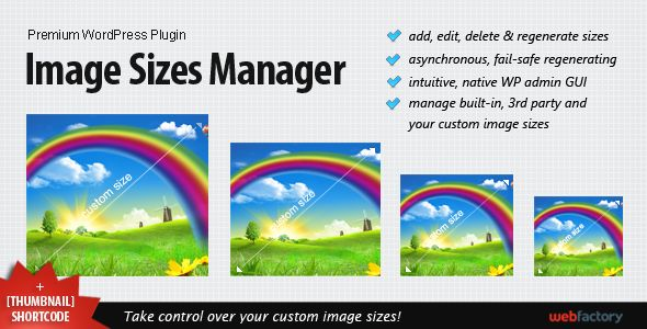 Image Sizes Manager . Image has features such as High Resolution: Yes, Software Version: WordPress 4.5, WordPress 4.4.2, WordPress 4.4.1, WordPress 4.4, WordPress 4.3.1, WordPress 4.3, WordPress 4.2, WordPress 4.1, WordPress 4.0, WordPress 3.9, WordPress 3.8, WordPress 3.7, WordPress 3.6, WordPress 3.5, WordPress 3.4, WordPress 3.3, WordPress 3.2, WordPress 3.1, WordPress 3.0