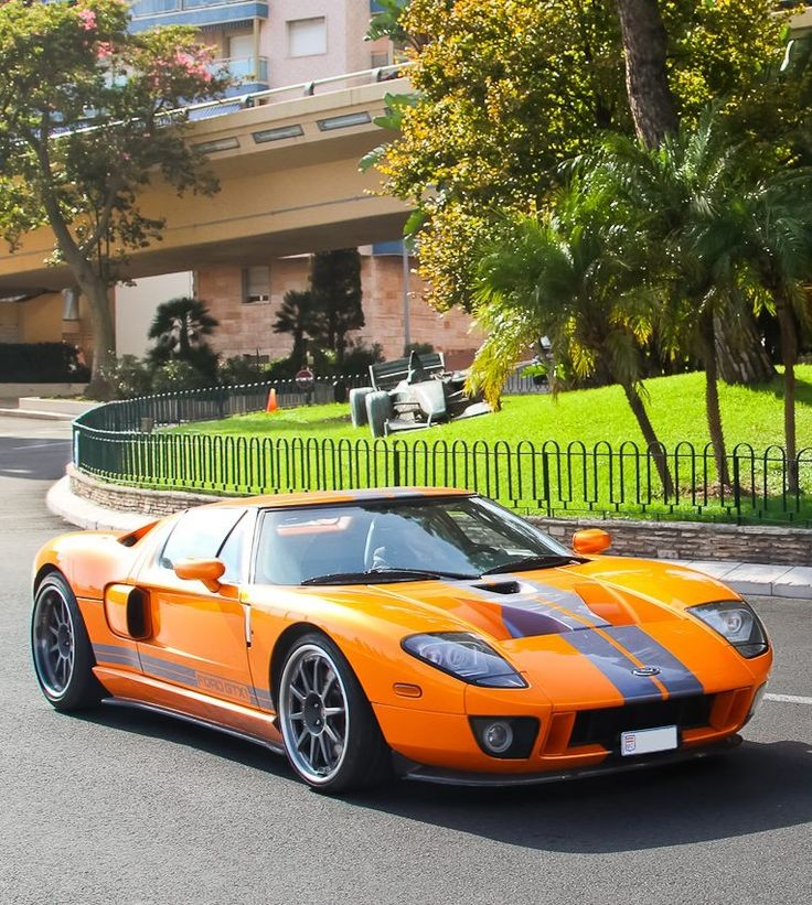 Orange Ford Gt Those Lines Never Get Old Id Prefer This Over The New Gt