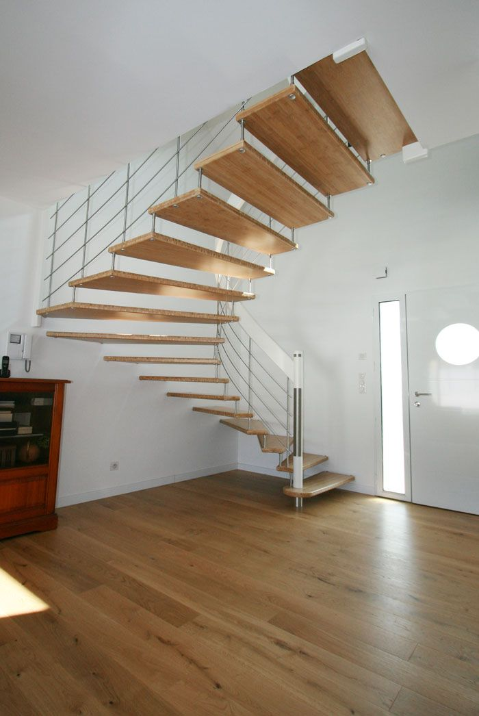 70 best images about escaliers suspendus on pinterest. Black Bedroom Furniture Sets. Home Design Ideas