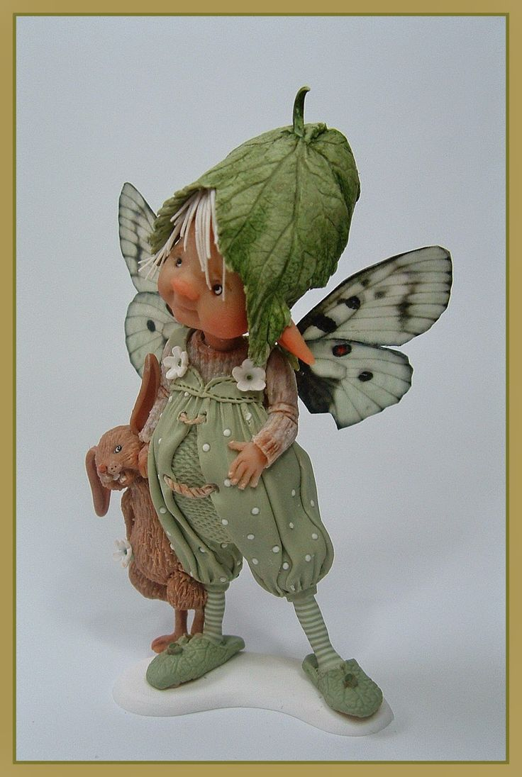 enaidsworld: Fairy puppets She is brilliant, I visited her in her home in Belgium and we really got on.