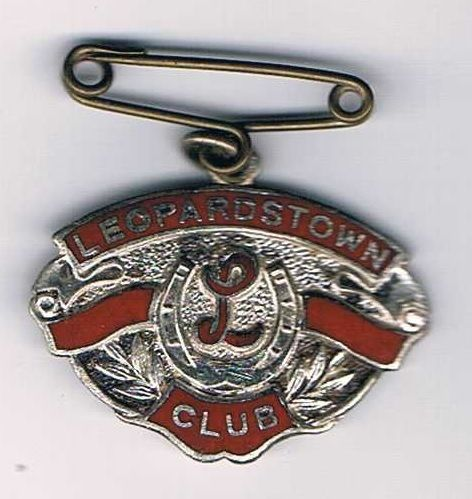 1943-44 Leopardstown Racecourse enamel member's badge