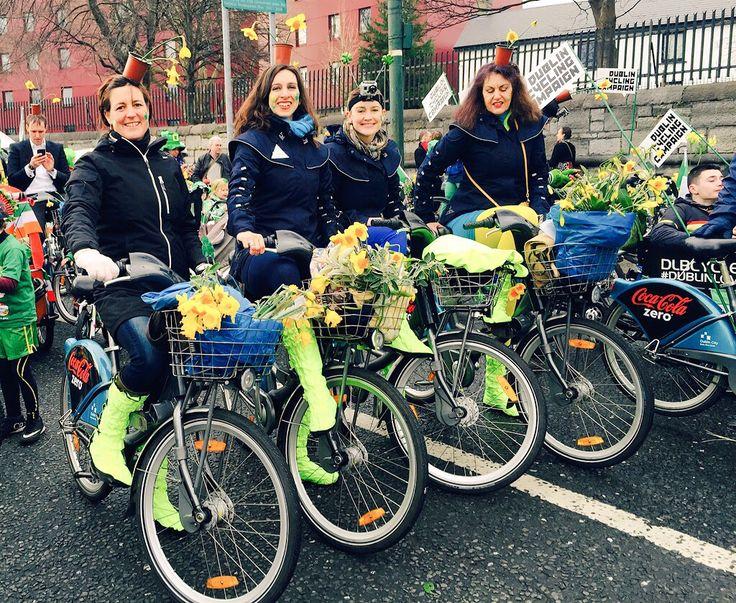 St. Patrick's Day Parade 2015. Georgia in Dublin takes ...