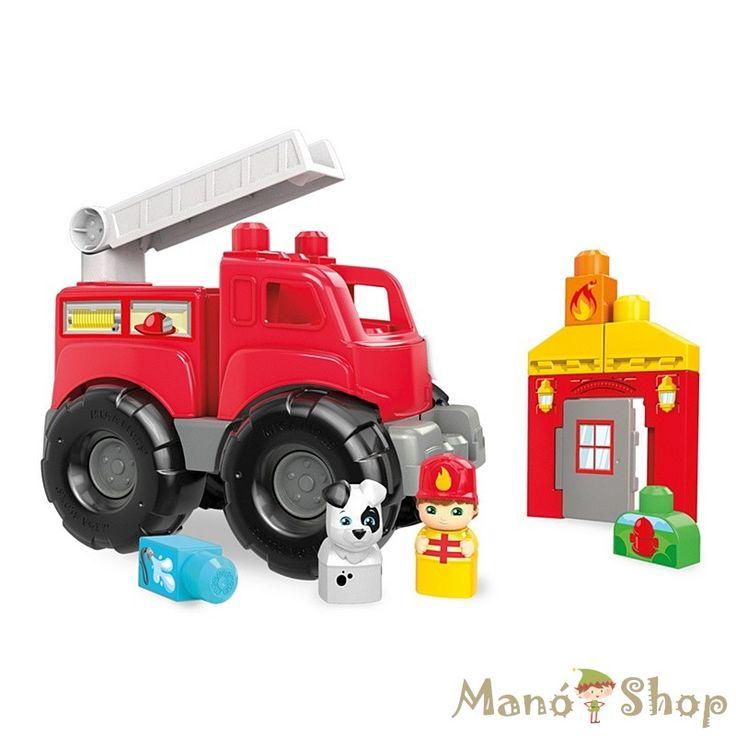 Mega Bloks létrás tűzoltóautó (DXH38)
