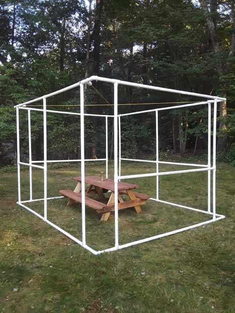 UPDATED! Simple DIY Sukkah - Build Your Own From PVC Pipe - Free
