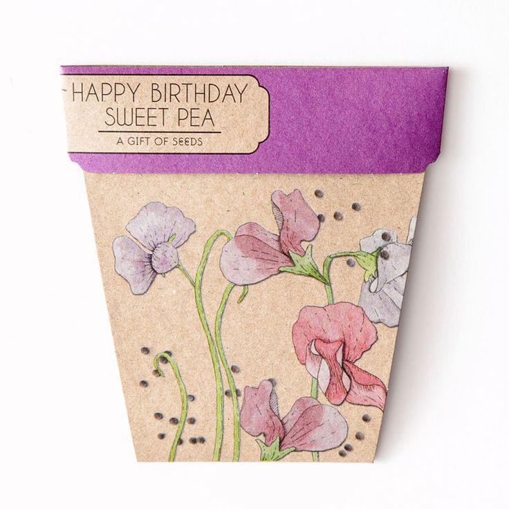 top3 by design - Sow n Sow - gift of seeds bday sweet pea