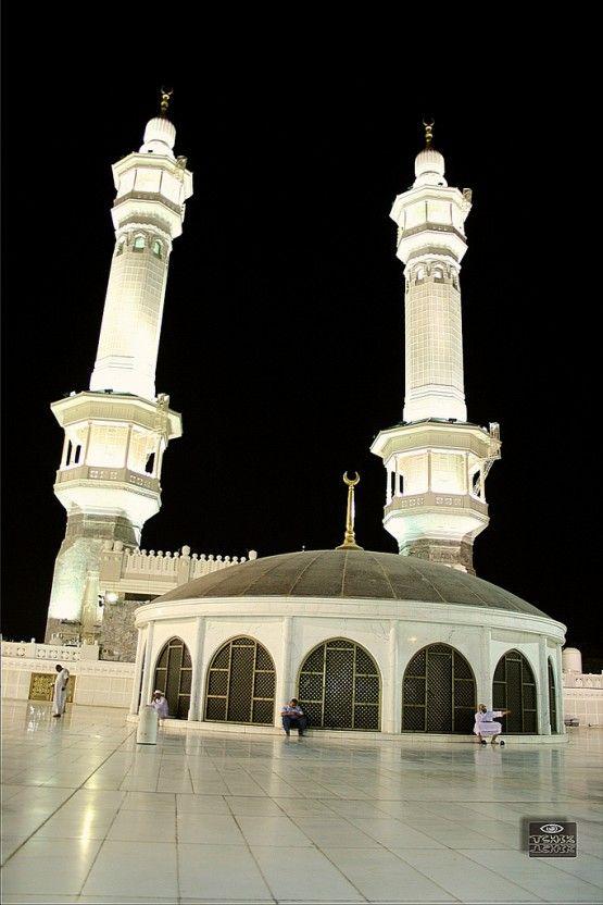 The Third Floor (Roof Musallah) of Masjid al-Haram in Makkah, Saudi Arabia