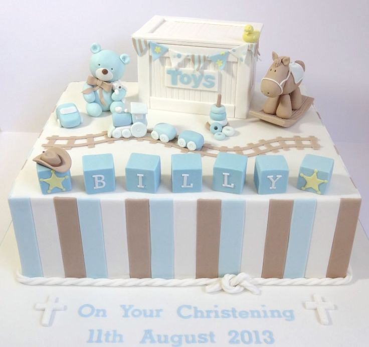 Billy's Christening - For little Billy, whose dad is an urban cowboy of sorts!