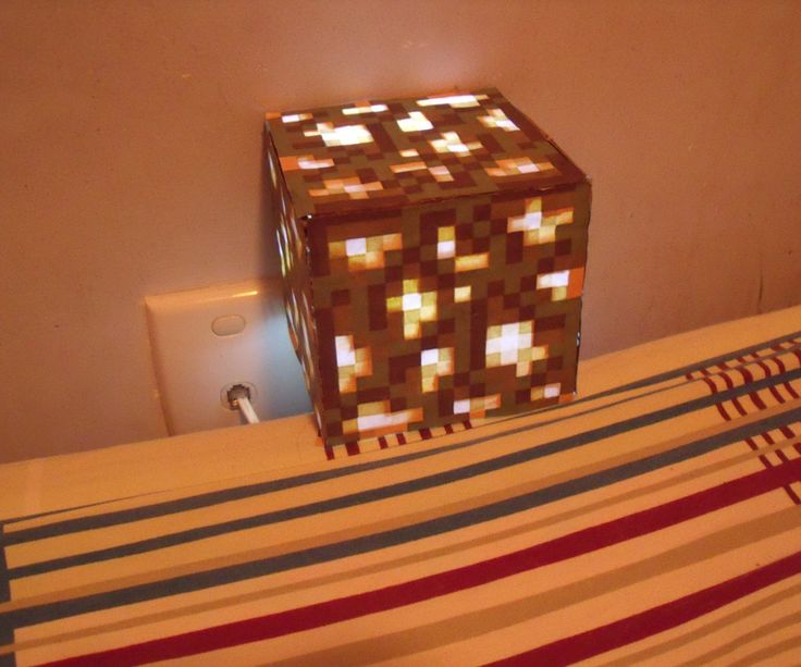 DIY glowstone lamp