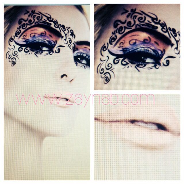 Face Art ,  tattoos, eyeshadow, makeup, beauty, model, lips, with @provokecosmetics