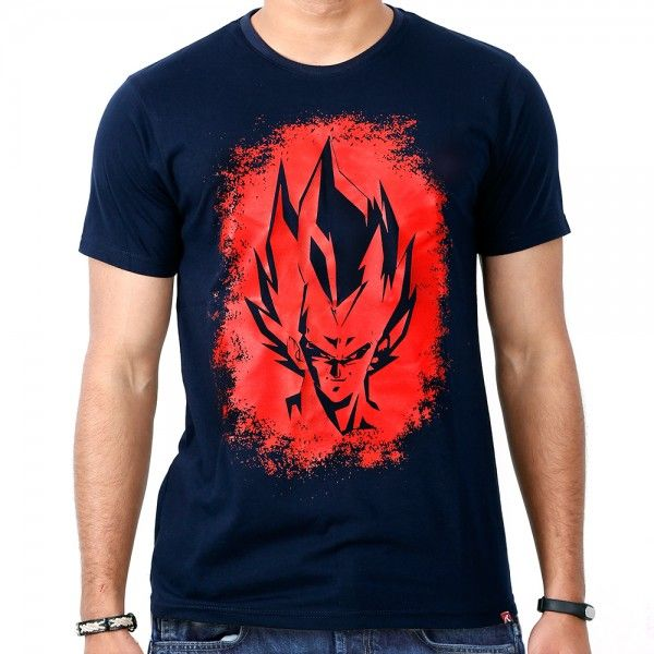 Super Saiyan Vegeta Dragon Ball Anime Shirt