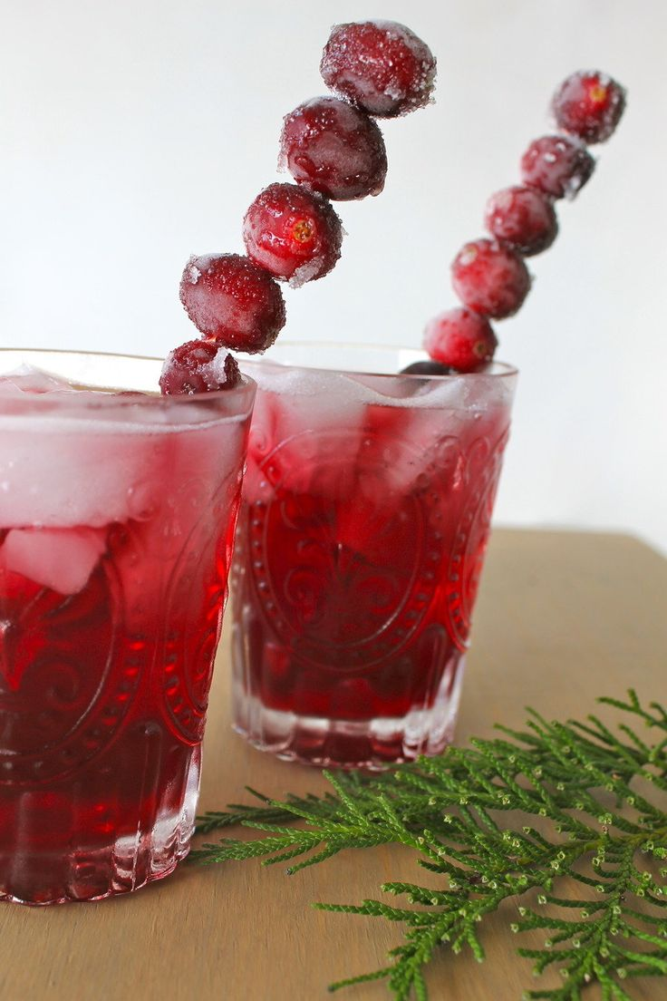 Wine Holiday Cocktail