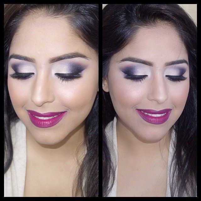 One of many clients from today's events. Eyes are #urban decay palette3, #nyxcosmetics milk jumbo pencil as a base, lashes are #magicglam in cleopetra, brows are dip brow pomade n brow powder duo in dark brown, lips are rebel and vino lipliner, skin was airbrushed #Bellettostudio airbrush system and lastly brushes used to achieve this look #hairandmakeupaddiction @magicglam #maccosmetics #beautybymegannaik #makeupbyme #Padgram