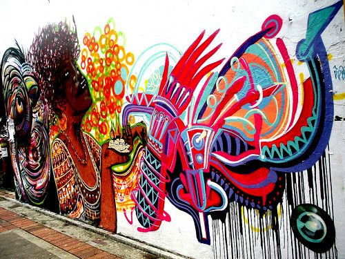 Bogota, Columbia graffiti