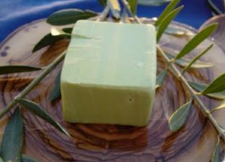 italian olive oil soap!