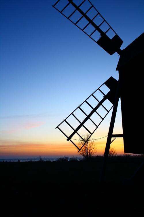 windmill on Öland, sweden
