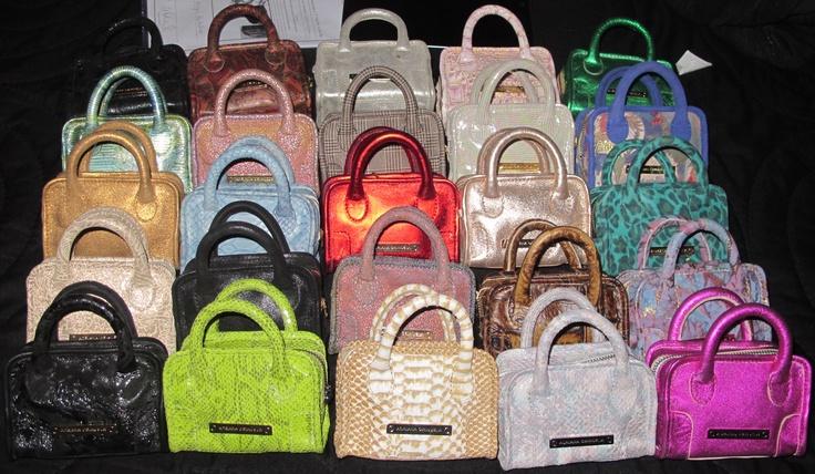 My mini bags - I love them!!!  www.adrianaorihuela.com