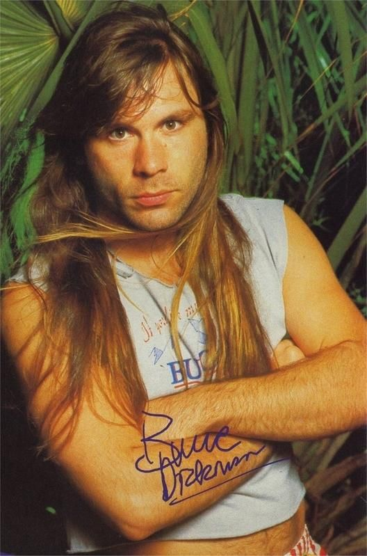 Bruce Dickinson-Iron Maiden british metal vocalist from iron maiden what is not to like seriously