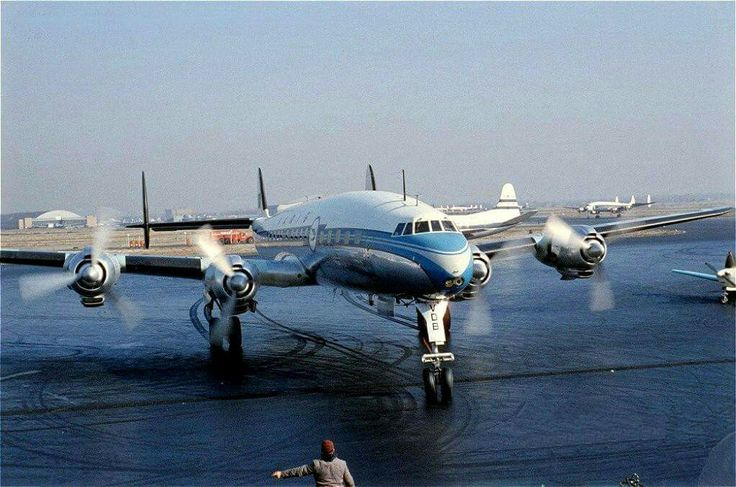 Varig Brazilian Airlines Lockheed L-1049 Super Constellation