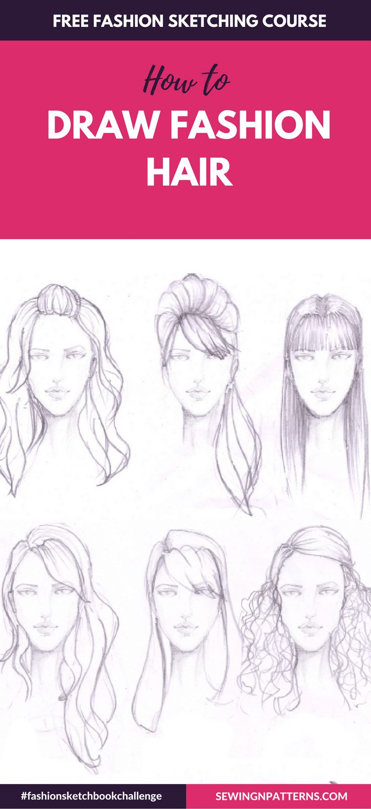 Fashion sketch like a pro with #fashionsketchbookchallenge 30 days FREE fahion design course How to Draw Fashion Sketches step by step
