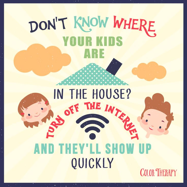 Don't know where your kids are in the house? Turn off the internet and they will show up quickly. 😋🙃😜 --------- ❤️ Color with us on your iPhone or iPad: link in the bio. --------- #QOTD #QuotesoftheDay #ColorTherapyApp #coloring #adultcoloringbook #adultcoloring #adultcolouring #adultcoloringbooks #adultcolouringbook #colorfy