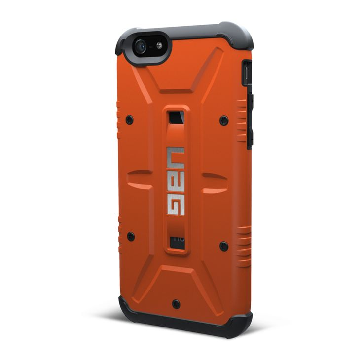 UAG iPhone 6 Composite Case - Outland - Rust/Black   Mobile Madhouse #iPhone6 #Apple #iPhone #Rust #Orange #Black #UAG #MobileMadhouse