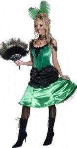 SM36158 Western Saloon Girl Costume