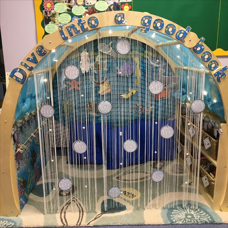 Reading area - under the sea