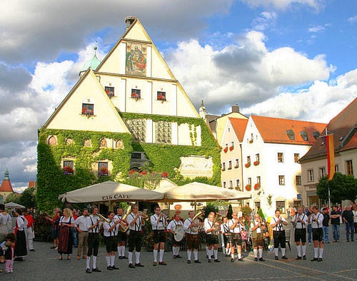 Weiden, Germany where Johnythan was born.