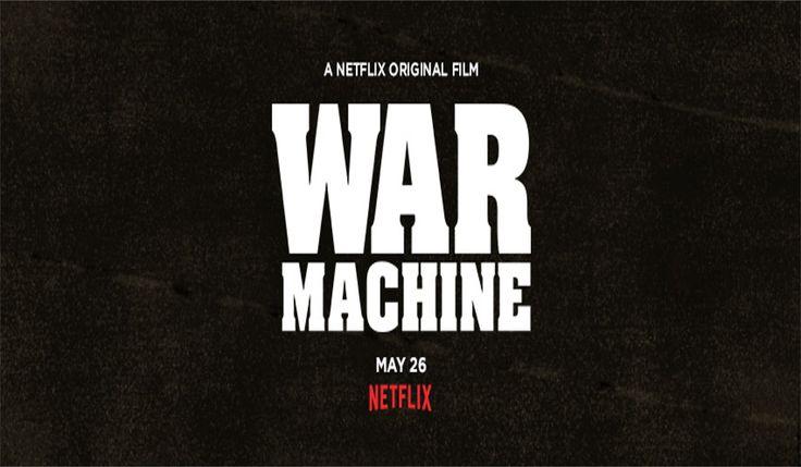 War machine: a Netflix original film starring, Brad Pitt,Tilda Swinton and Sir Ben Kingsley. Check out the latest movie trailer. #warmachine