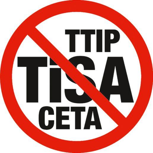 Wir müssen uns gegen TiSA, TTIP, CETA und andere gefährliche Freihandelsabkommen wehren. Unterschreibe die Petition! !