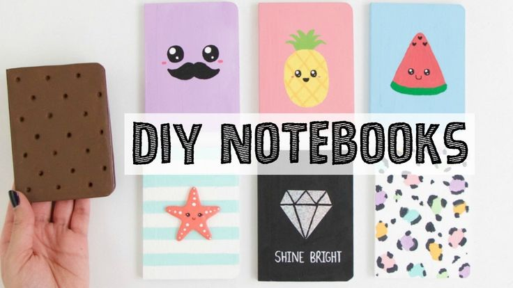 17 best images about diy notebooks books on pinterest for Back to school notebook decoration ideas