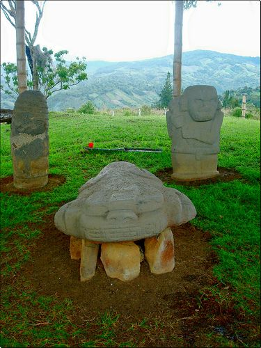 Cultura precolombina de San Agustín Huila Colombia   Flickr - Photo Sharing!