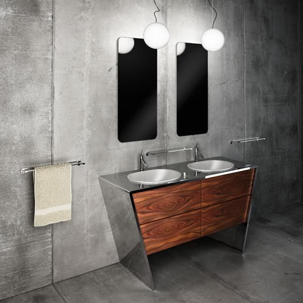 18 best landaas powder bath images on pinterest bath for Tansu bathroom vanity