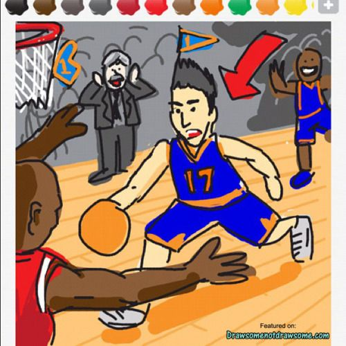"the best ""Lin"" Draw Something so farTo Drawing, Drawing Something, Lin Linsanity, Thoughts Mine, Sticks Figures"