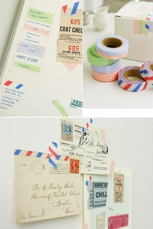washi tape-- i need.