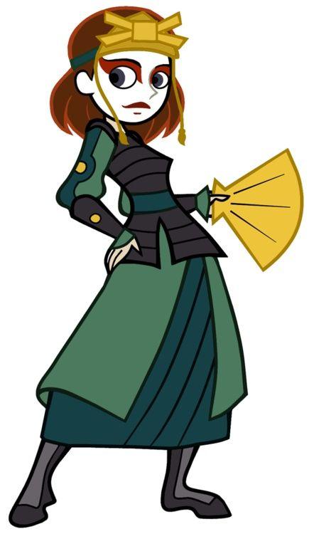 Kim Possible as Suki//She'd make a good Kyoshi warrior.