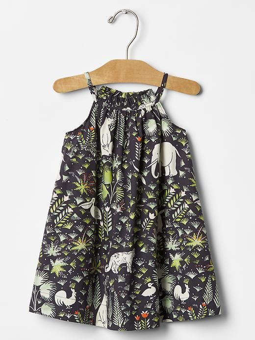 Jungle print dress Product Image