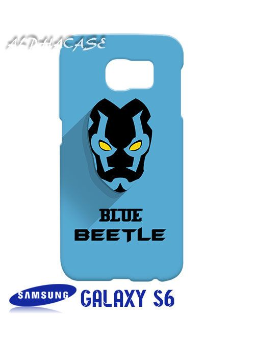 Blue Beetle Superhero Samsung Galaxy S6 Case