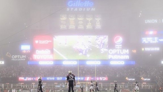 An eerie fog covered the Patriots game and the internet has THEORIES