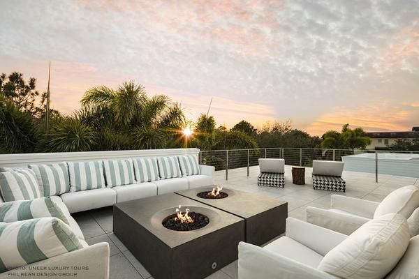 Tuya Fire Bowl - high design and functionality.