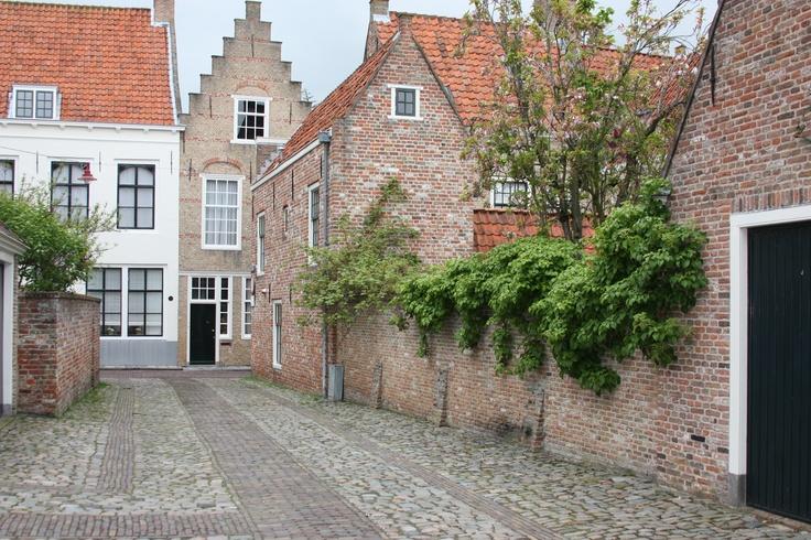 Straatje in Middelburg