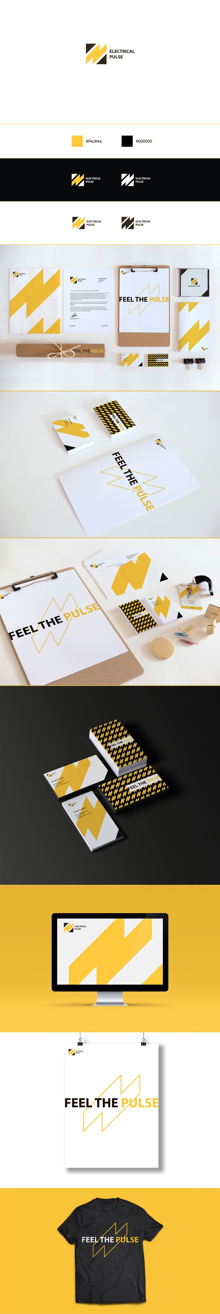 Electrical Pulse - Brand Identity on Behance