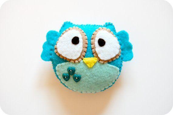 felt owl...