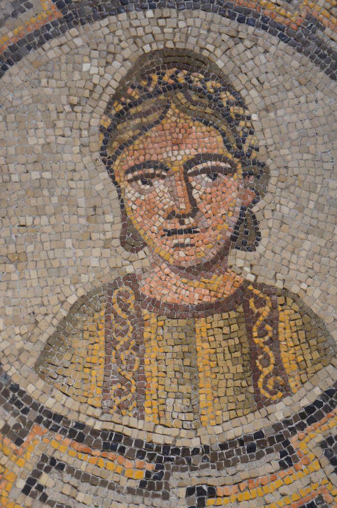Aquileia mosaic portrait