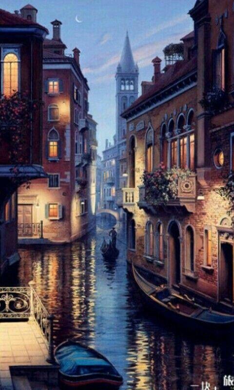 Venice, Italy | Bucket list - Take A Gondola Down The Venice Canals