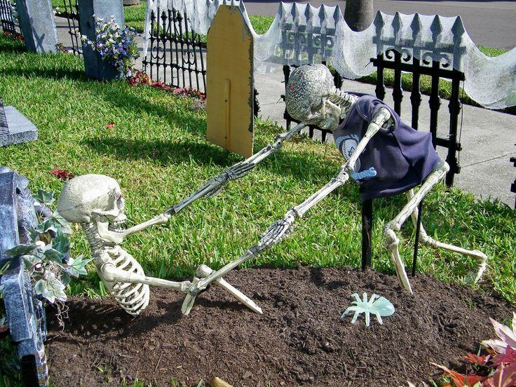 52 best halloween decor images on Pinterest Halloween prop - scary halloween outdoor decoration ideas