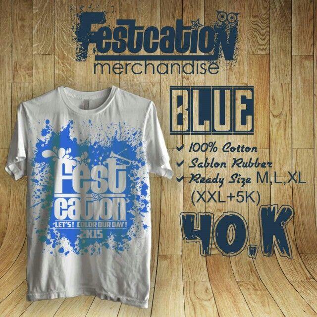 Festcation merch (blue)