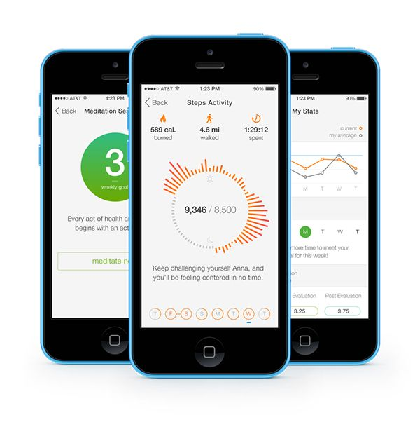 Centered –– iOS application for stress management / Tatyana Golubeva