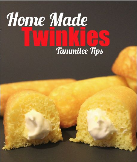 Home Made Twinkies. Guess I should keep this incase I get a craving for them now that they are gone!! :(