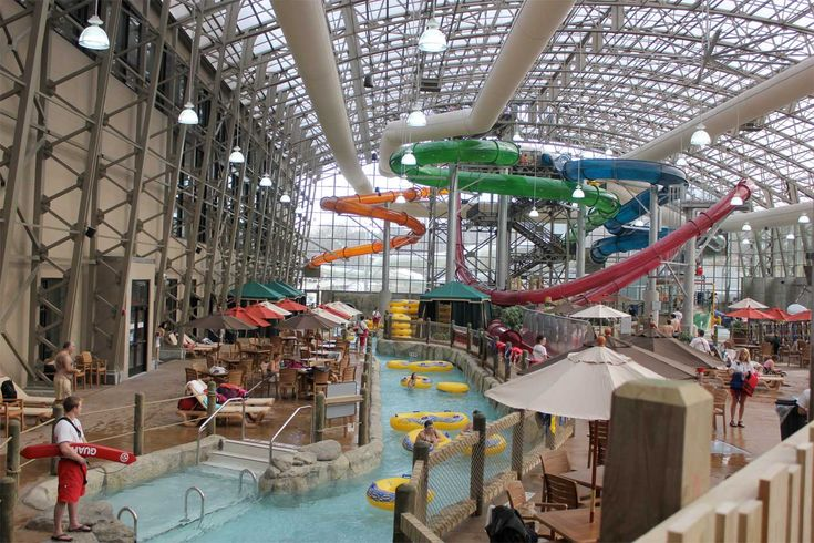 We've got to be honest here - we love all our ski resorts - they each offer something different and have their own unique personalities.  That being said, Jay Peak Resort stands out for many reasons including their indoor water park.  YES, we said water park.  No matter the time of year, this family-friendly attraction is certain to please - from a lazy river to a thrilling slide that takes you upside down this place has got it all.  Did we mention their skiing is great?